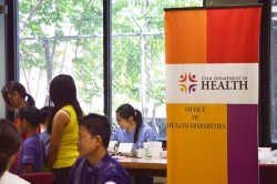 Healthy Living: RIC-AAU Community Health Fair 2014