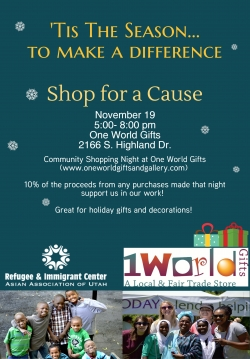 Shop for a Cause: Community Shopping Night 2014