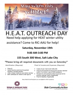HEAT Outreach Day