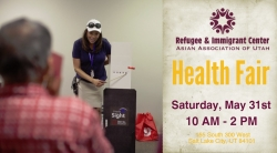 Health Fair at RIC-AAU
